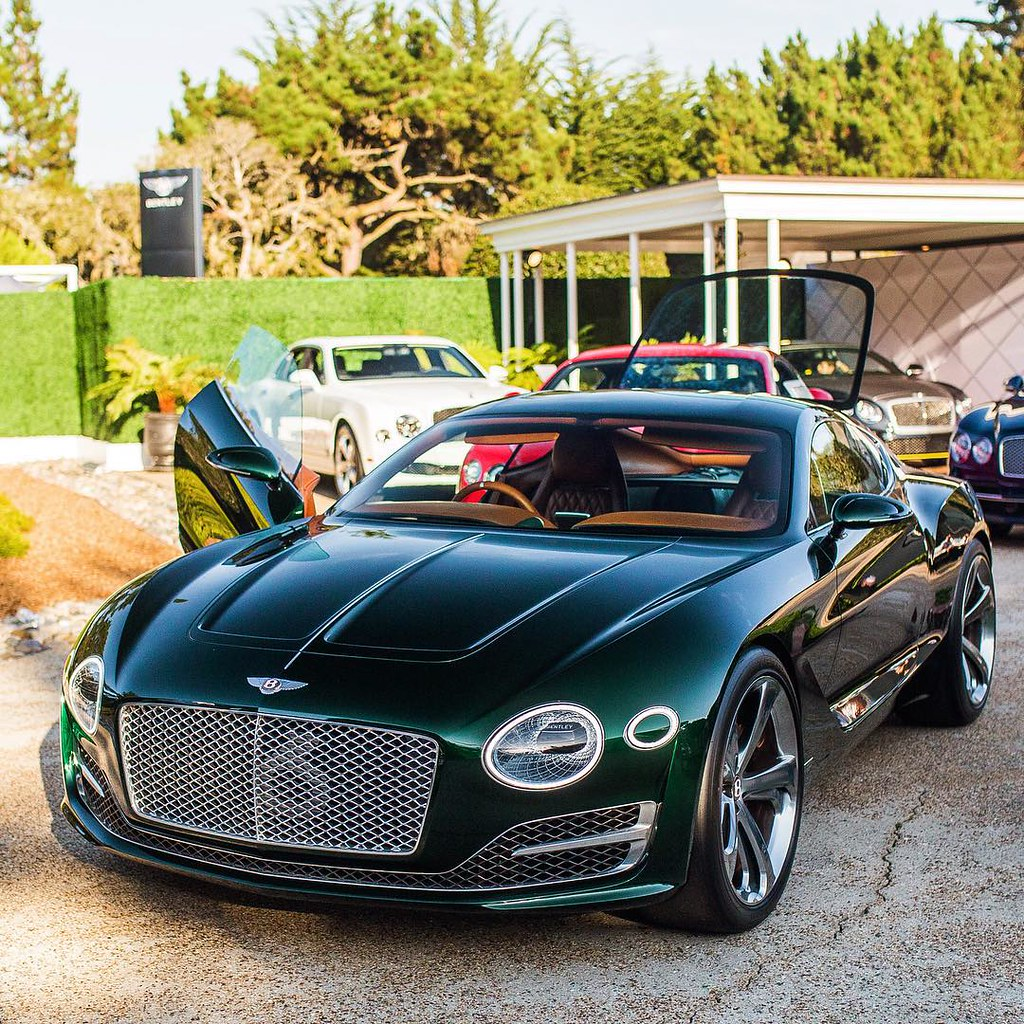 #bentley #concept #Car #pebble #beach #hypercar #new #bren