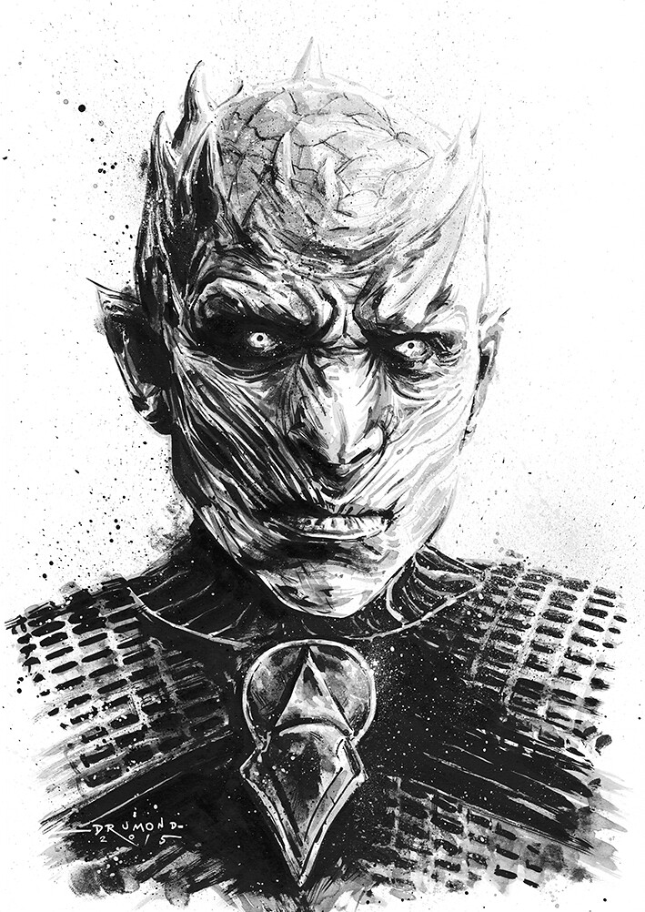 Game of Thrones by Drumond Art - White Walker