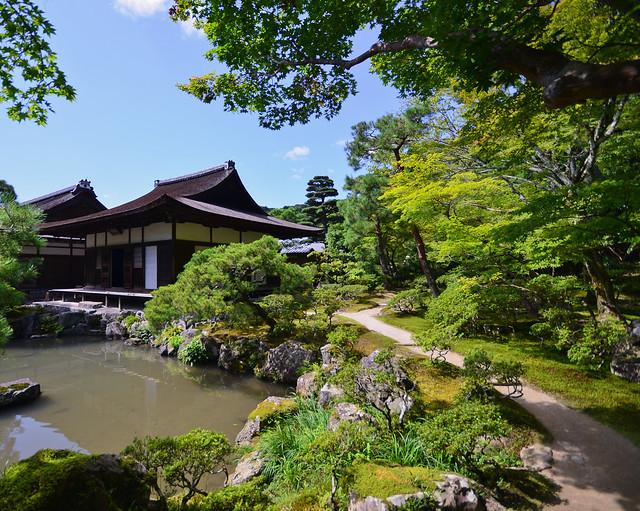 Jardines Ginkakuji de Kioto, de los más bonitos de la ciudad