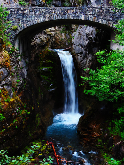Christine Falls, Mount Rainier National Park, WA, USA