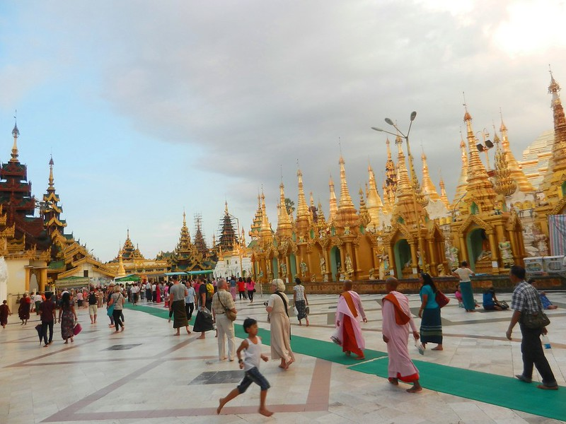 Шведагон (Shwedagon) Мьянма