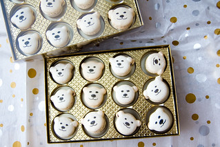 Polar Bear Macarons