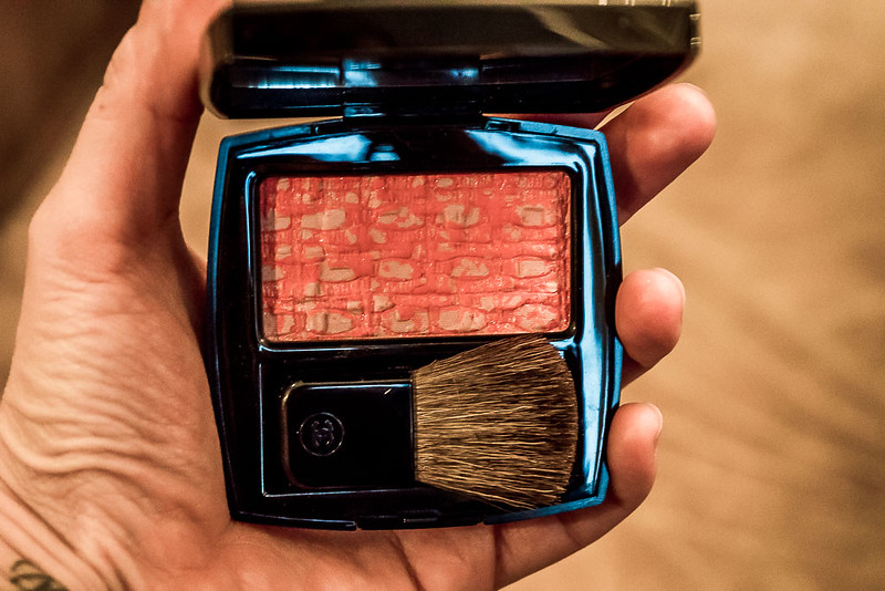 chanel tweed corraline blush