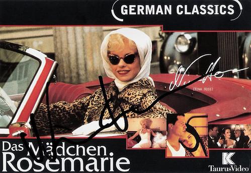 Nina Hoss in Das Mädchen Rosemarie (1996)