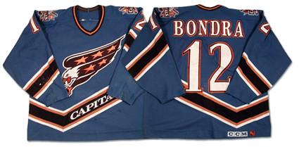 Washington Capitals 1995-96 jersey