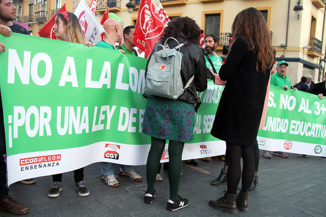 9M HUELGA GENERAL EDUCATIVA - LEÓN