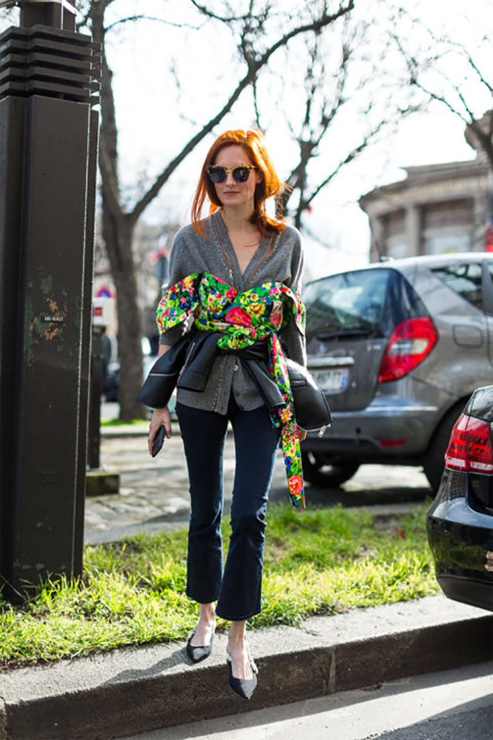 Paris fashion week street style outfit inspiration accessories fashion trend style4