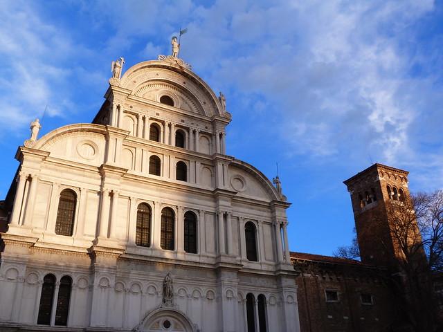 Iglesia en el barrio de Castello (Venecia)