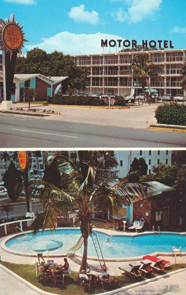 Downtown Cabana Motor Hotel - Bradenton, Florida