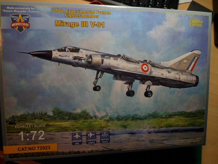 Ouvre-boîte Mirage III V.01 [Modelsvit 1/72] 21419833110_d0f171405c_b