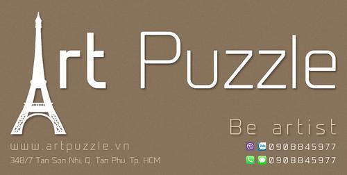 Art Puzzle - Chuyên mô hình kim loại (kiến trúc, tàu, xe tăng...) tinh tế và sắc sảo