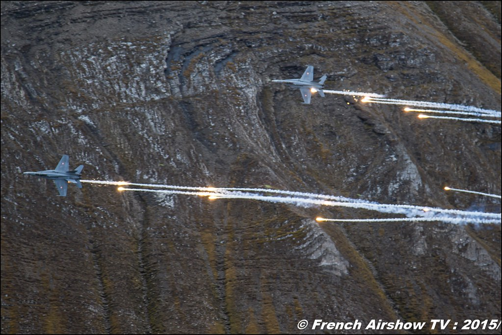 F/A-18 Hornet swiss, , Axalp 2015 , axalp fliegerschiessen 2015 , Exercices de tir d'aviation Axalp 2015 , ch