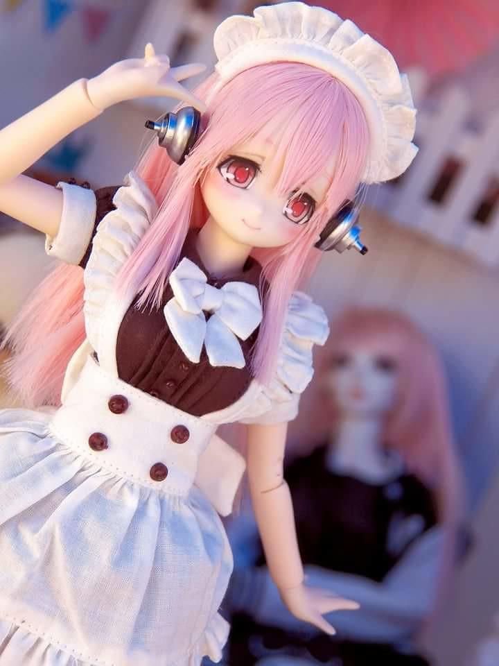 Super Japan Expo Convention With My Custom Dolls Azone Obitsu Pureneemo Kawaii