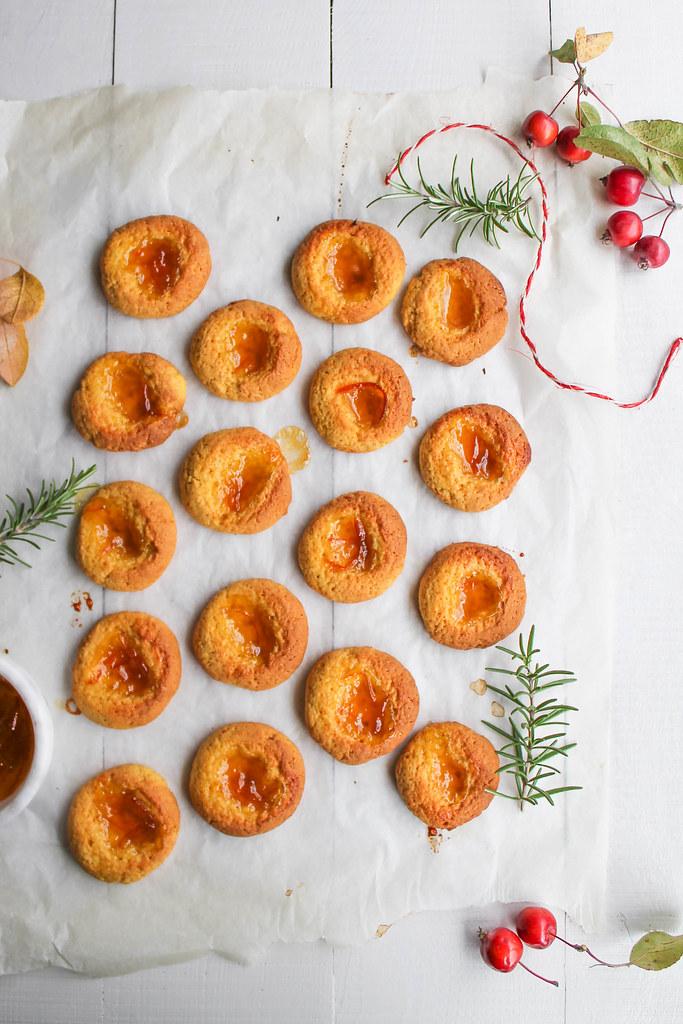 Biscuits empreinte