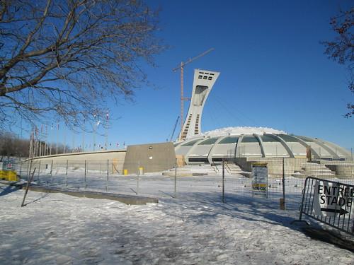 Stade Olympique/Olympic Stadium (5) #montreal #montréal #stadeolympique #olympicstadium #architecture #hochelagamaisonneuve #latergram