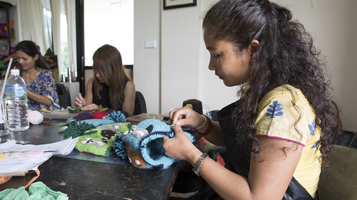 Women Sew Clothing | by World Bank Photo Collection