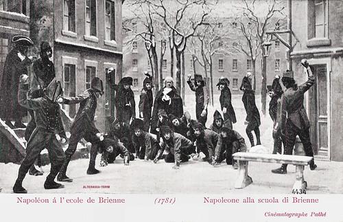 Napoléon à l'école de Brienne (1781)