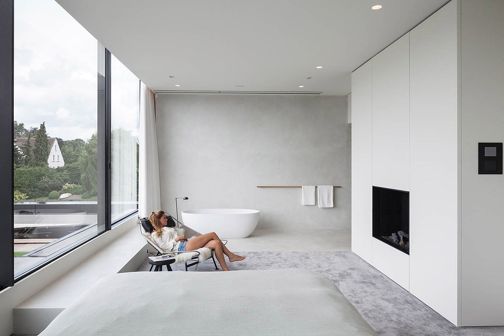 Bachelor pad design by Govaert & Vanhoutte Architects near Ghent Sundeno_03