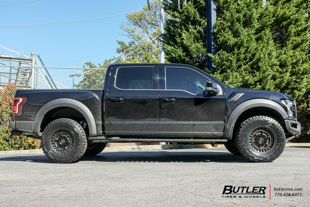 White Chevy Silverado Truck >> 2017 Ford Raptor with 18in Black Rhino Armory Wheels and T… | Flickr
