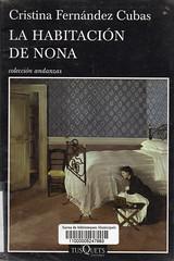 Cristina Fernández Cuba, La habitación de Nona