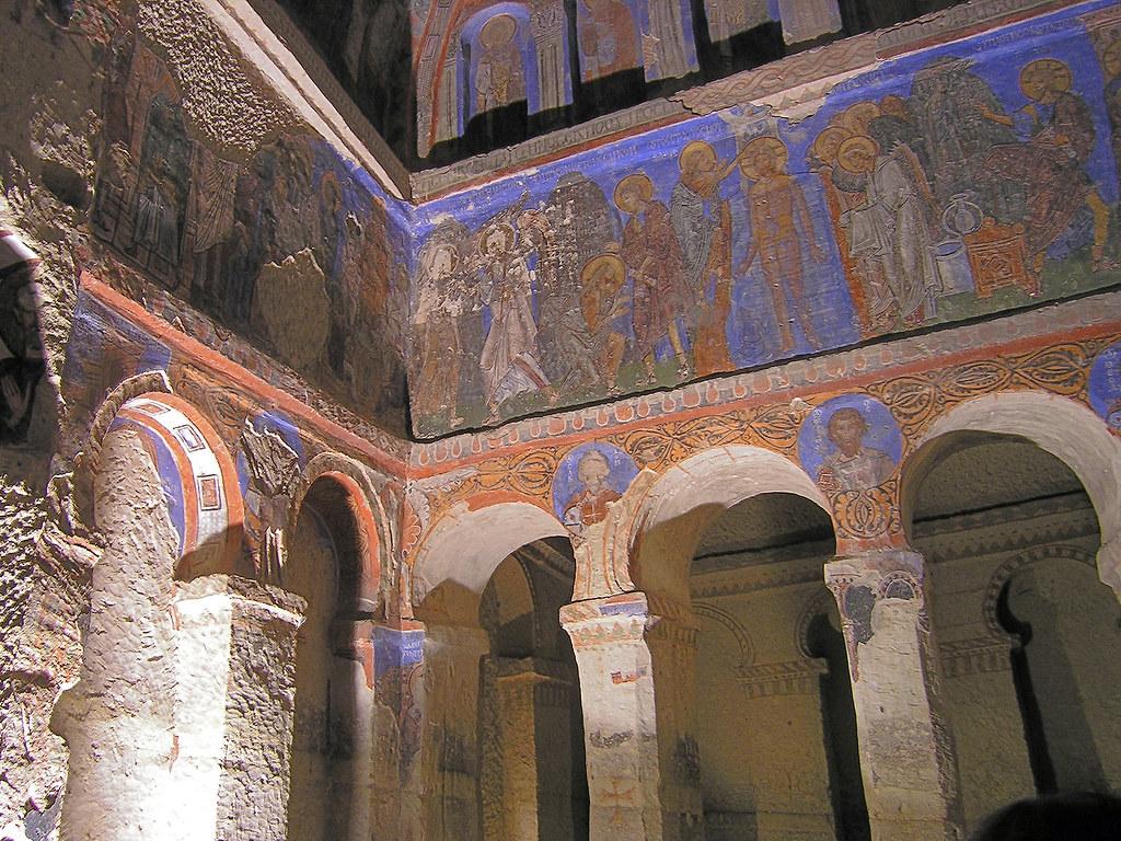 Göreme (Nevşehir)  Church of the Buckle - Tokalı Kilise ...