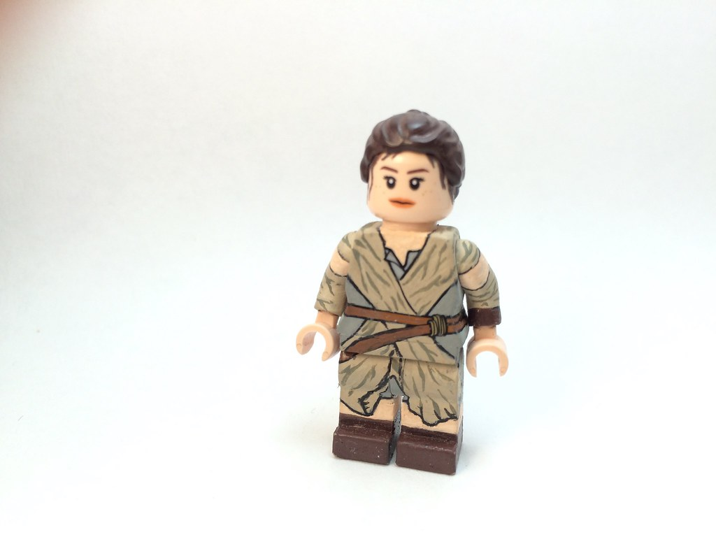 Custom Lego Rey The Force Awakens Updated Nate Figs