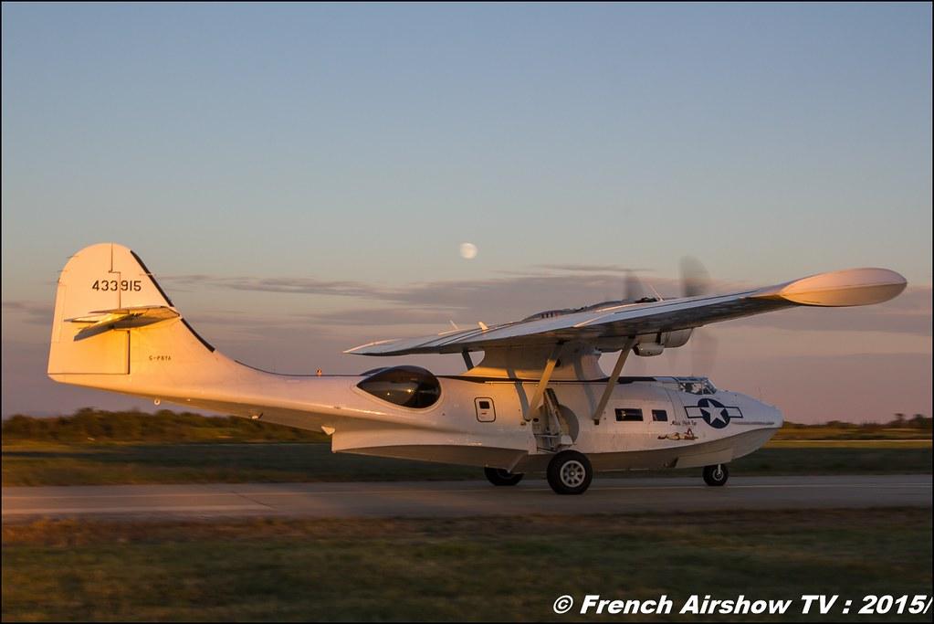PBY-5 Catalina, Feria de l'air 2015,BAN Nimes-Garons, Feria de l'air nimes 2015, Meeting Aerien 2015
