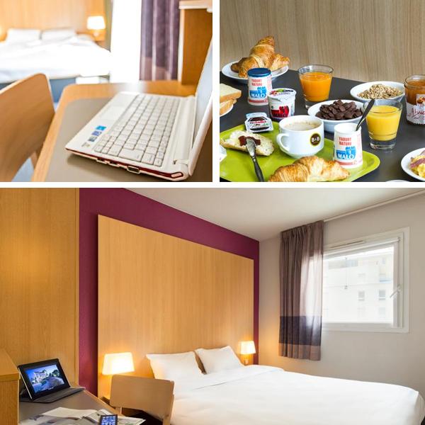 El mejor break & Breakfast de París, el del hotel Porte des Lilas