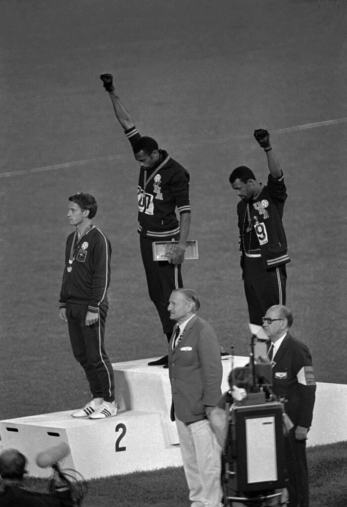 an analysis of olympic athlete report on tommie smith received an a Read the latest news from the olympics  tsn olympic broadcast  ormer olympic rower harold backer received a 13-month jail sentence wednesday.