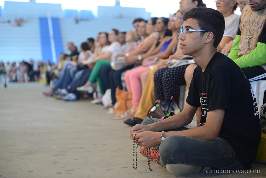 Pregação com Padre Roger Luis