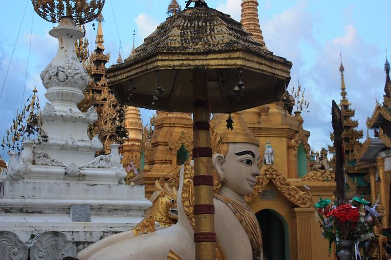 Шведагон в Рангуне (Янгон)