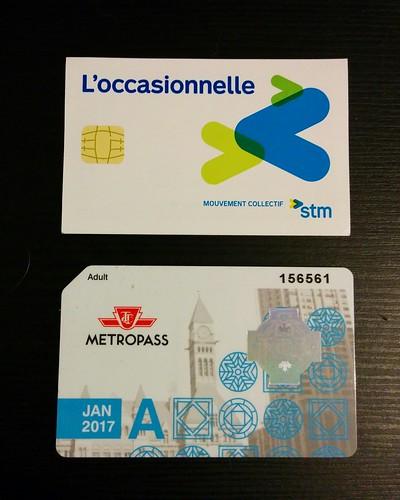 L'occasionelle vs Metropass #toronto #montreal #montréal #stm #ttc #loccasionelle #metropass