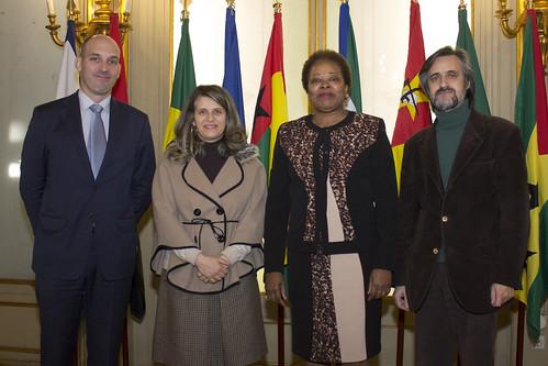 Secretária Executiva reúne Diretora do Escritório da OIT em Lisboa