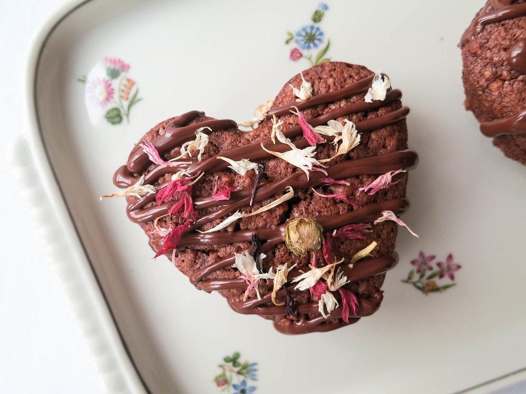 Chili-chocolate hearts recipe
