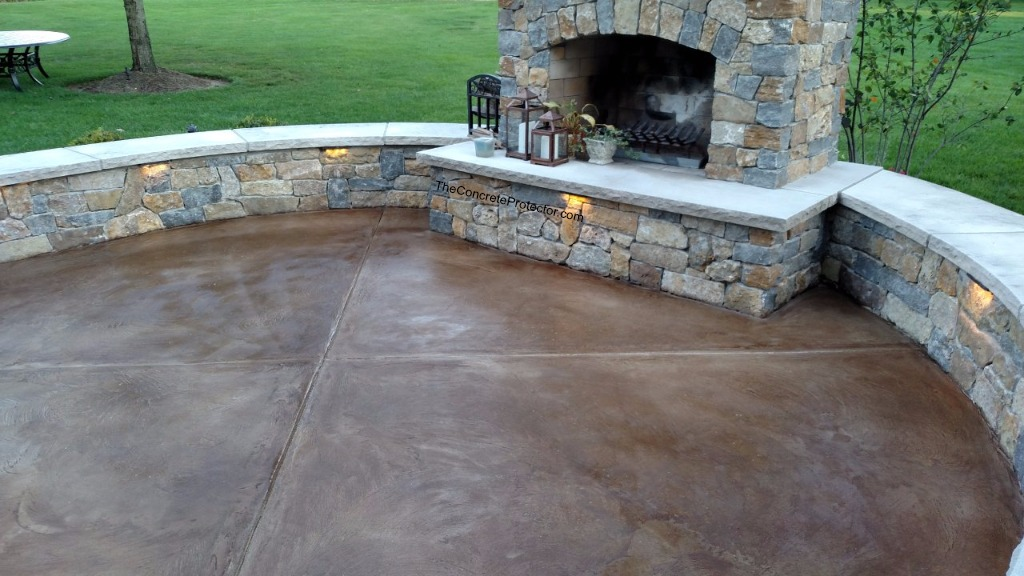 Delicieux ... Stained Concrete Patio  Concrete Surface And Design  Burlington, KY |  By Decorative Concrete