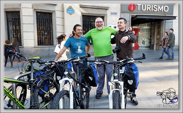 Camino de Santiago por Bilbao con Urban Bike 7