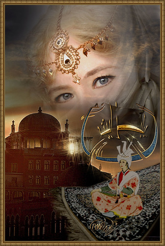 My dedication to the Magic carpet tale: 1001 Arabian Nights