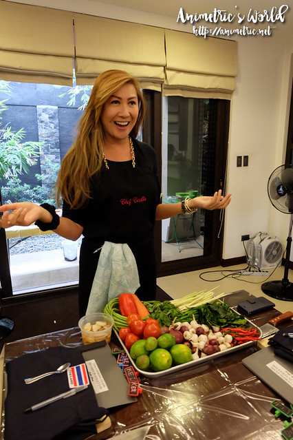 Thai Cooking Class with Chef Cecille Chang