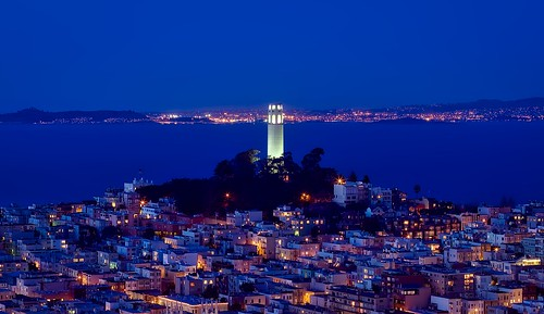 Coit Tower. From The Perfect San Francisco Long Weekend Itinerary