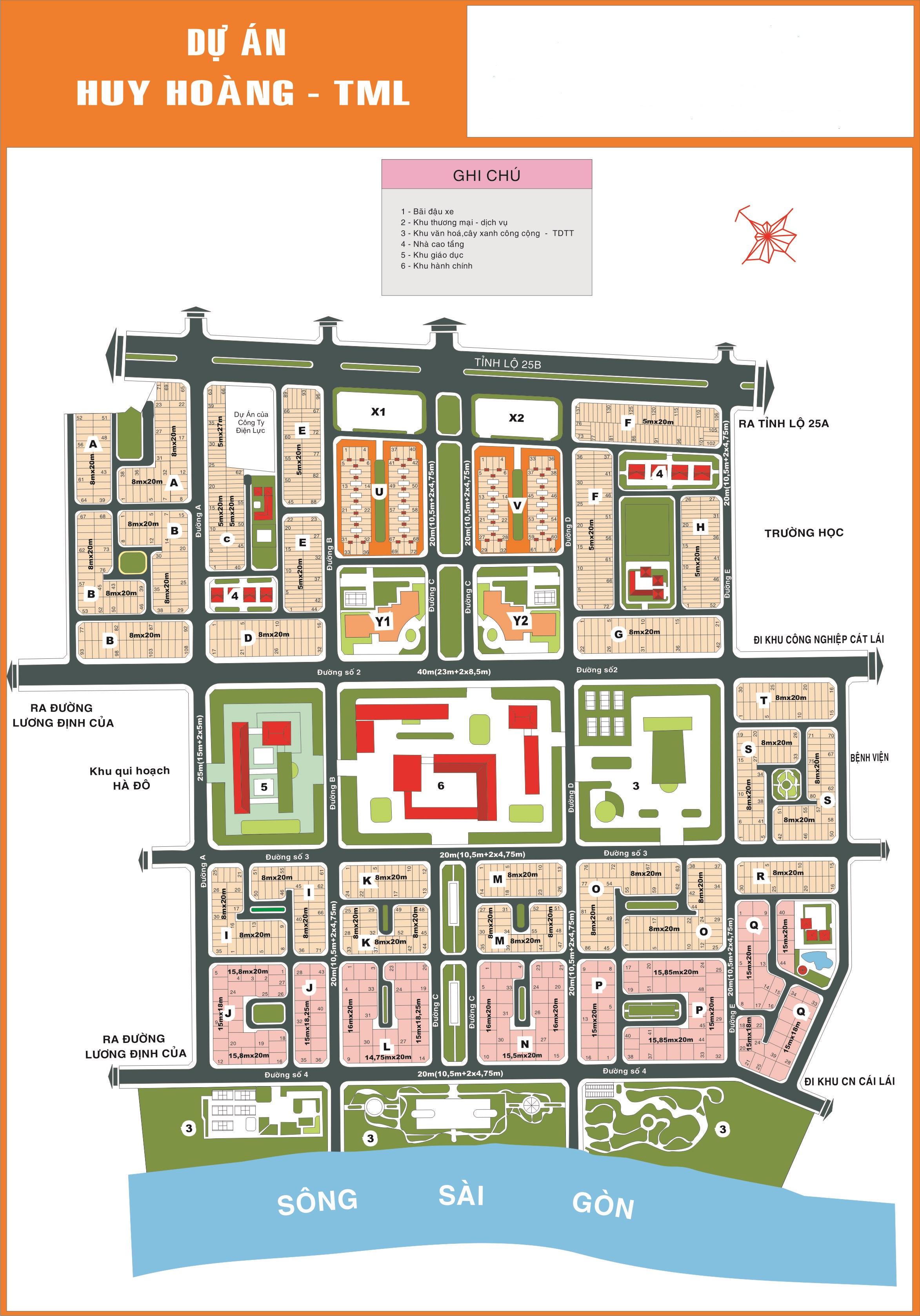 Dự án Huy Hoàng ở Thạnh Mỹ Lợi, Quận 2