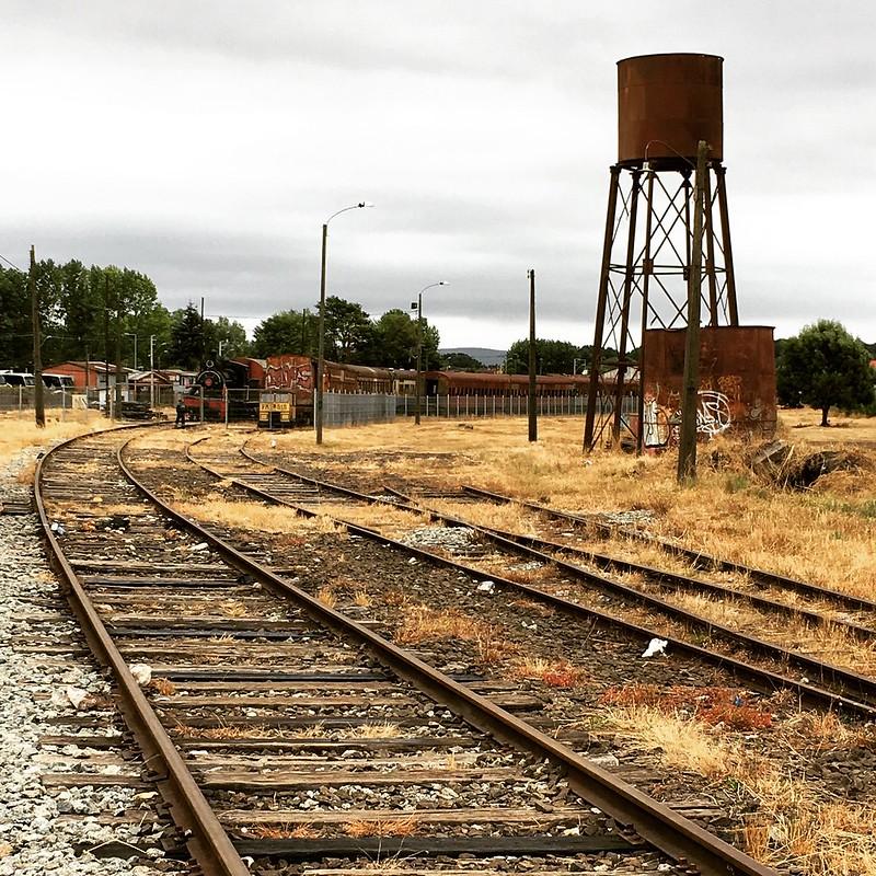 Vieja estación de trenes
