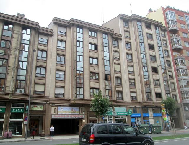 Same Art Deco Style Building, Avilés.