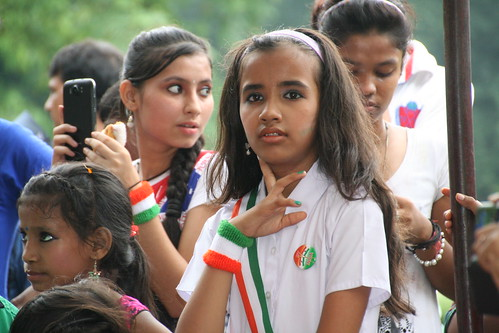 Girls celebrating Independence Day | by ramesh_lalwani
