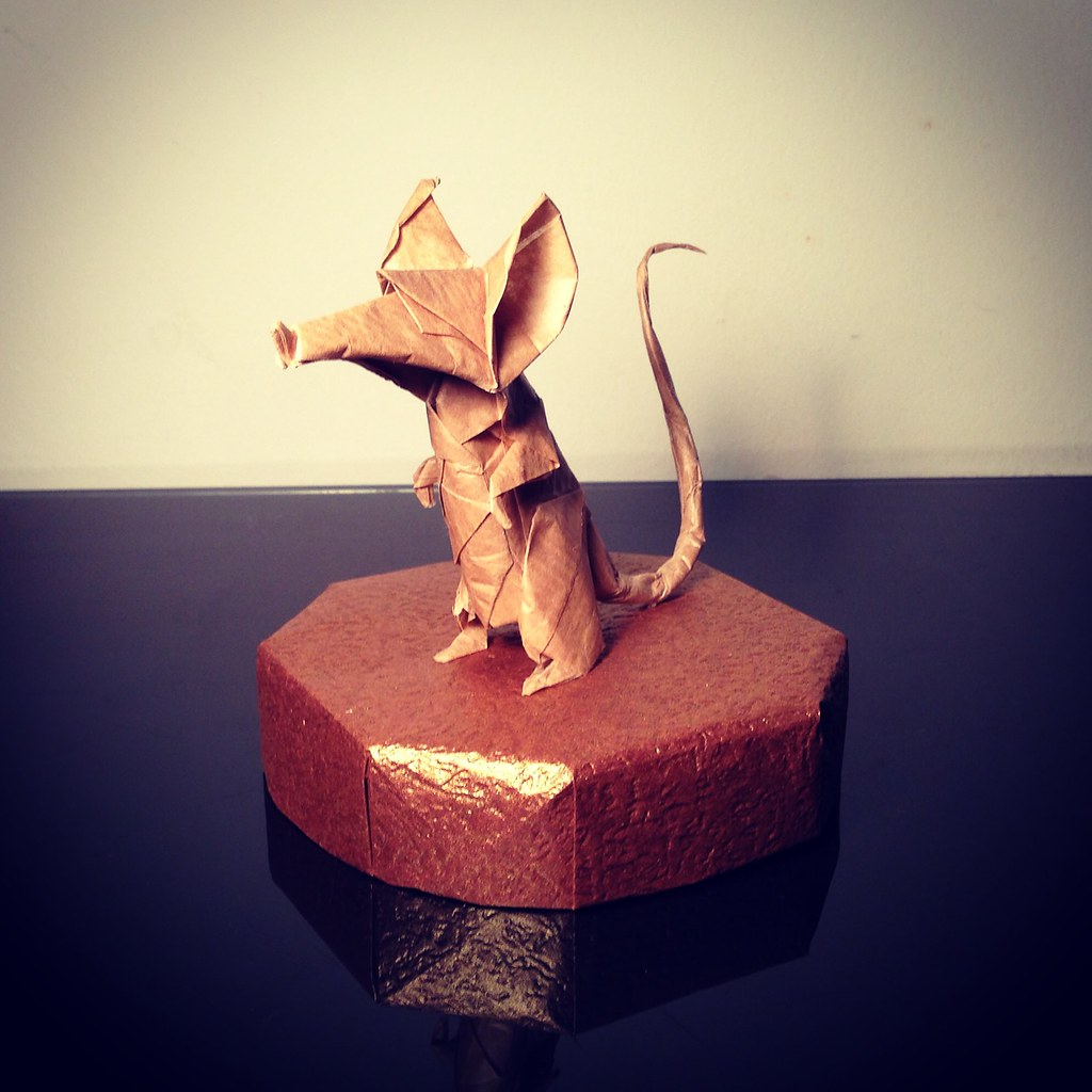 Shaunlergracie origami rat folded by shaunlergracie orig flickr jeuxipadfo Images