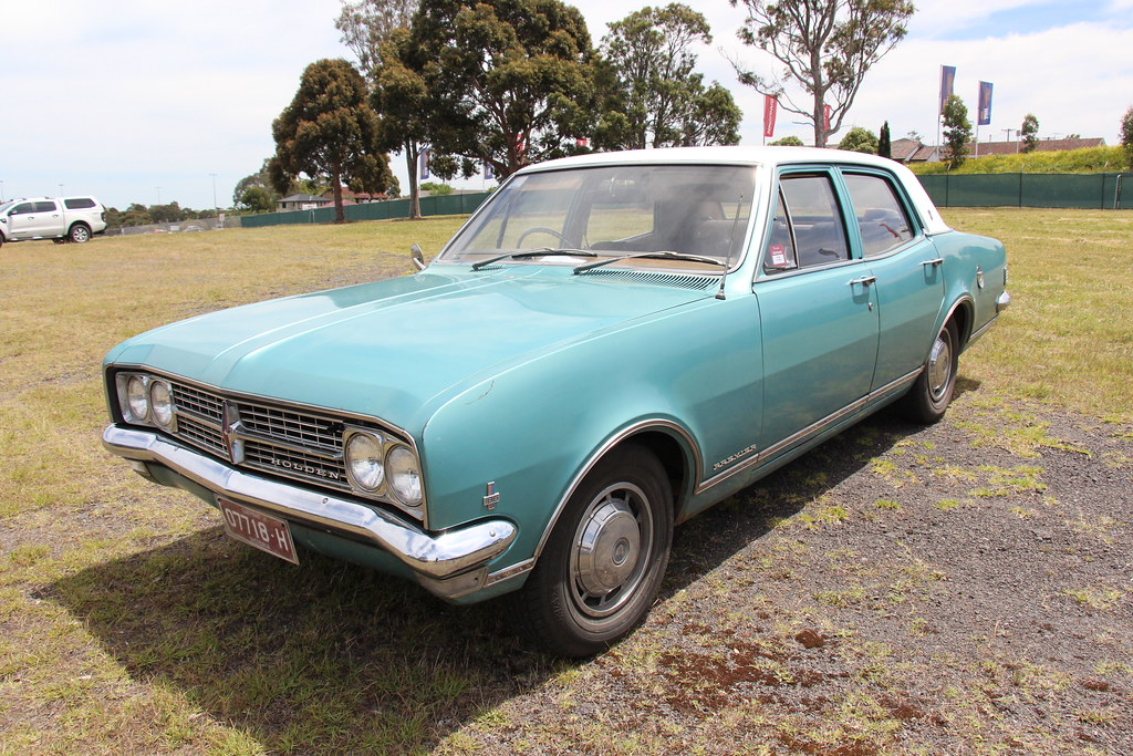 1968 Holden HK Premier Sedan   Tennyson Turquoise with a ...