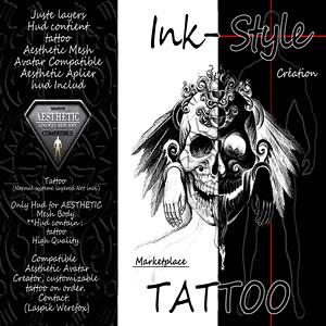 Carte De Visite Ink Style