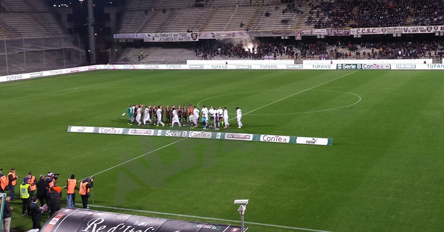 salernitana in campo