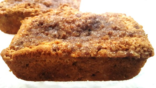 NEW cinnamon crumb cakes