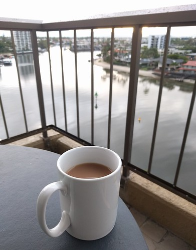 Tea by the Nerang River