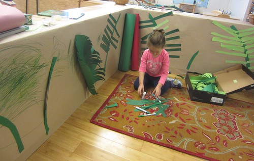 assembling ferns